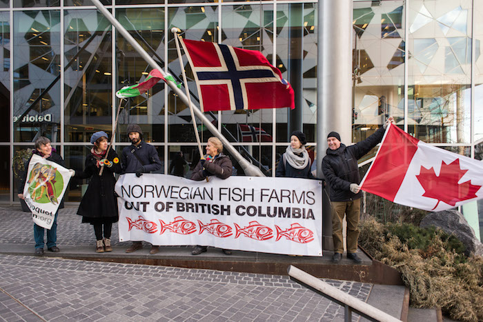 cermaq demo in oslo norway